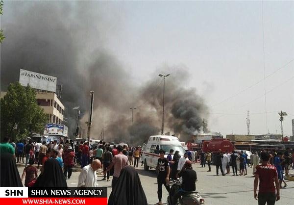 انفجار تروریستی در شهرک شیعه نشین صدر بغداد