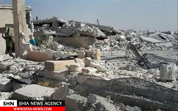 اصابت دهها موشک جدید به کفریا و الفوعه+تصاویر