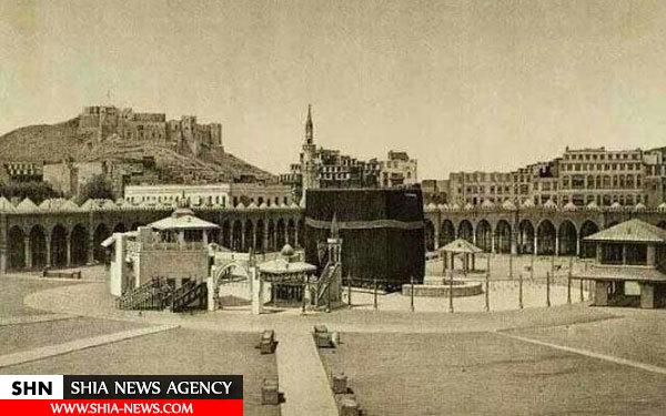 تصویر کعبه در 140 سال پیش