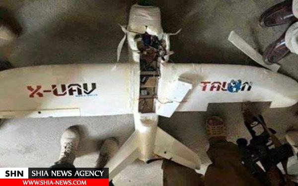 لاشۀ پهپاد داعش در عراق + تصویر