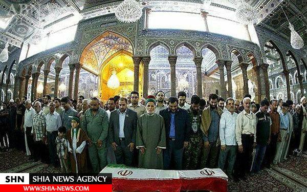 شهادت یک بسیجی ایرانی در شهر فلوجه + تصاویر