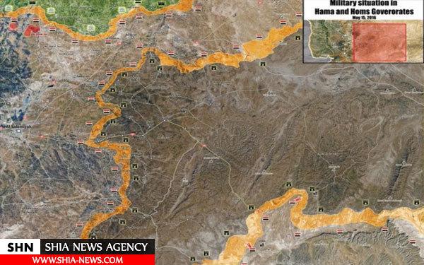 نگاهی به آخرین تحولات میدانی در حمص و دیرالزور + نقشه