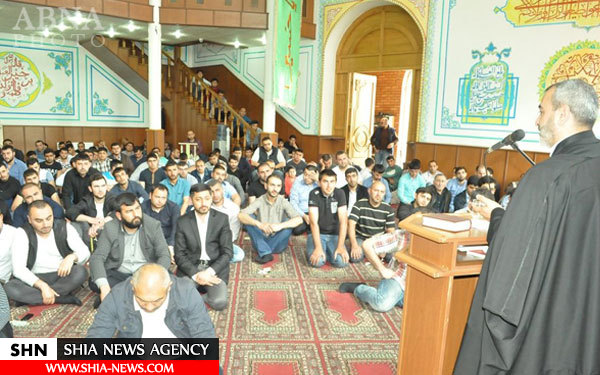 تصاویر برگزاری نماز جمعه در مسجد اهل بیت(ع) مارنولی گرجستان