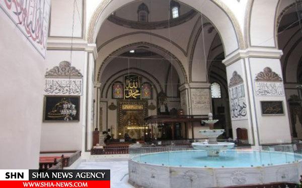 مسجدی با ۲۰ گنبد در ترکیه + تصاویر