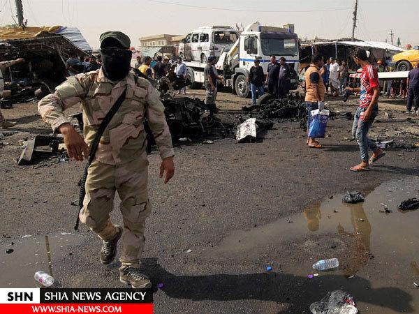 عکسهایی از انفجارهای خونبار بغداد
