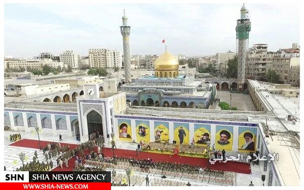 تصاویر برگزاری یادبود شهید بدرالدین در حرم حضرت زینب (س)