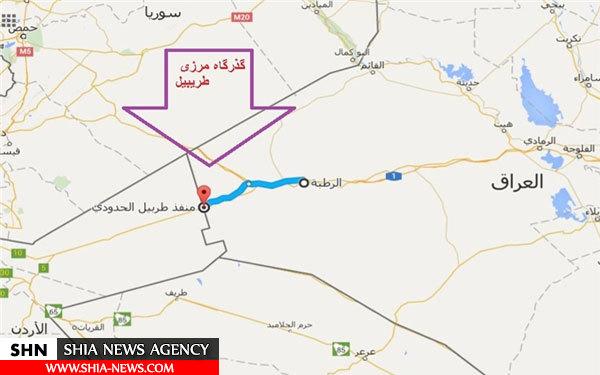 نیروهای عراقی به مرز اردن رسیدند