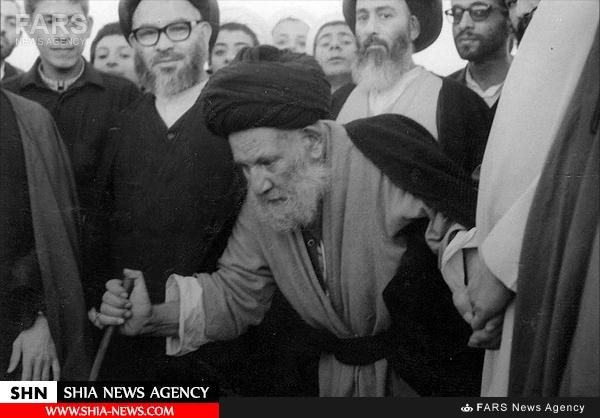 آیت الله العظمی سید محمود حسینی شاهرودی به روایت تصویر
