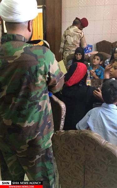 تصاویر کمک رسانی دفتر آیت الله العظمی سیستانی به خانواده های فلوجه