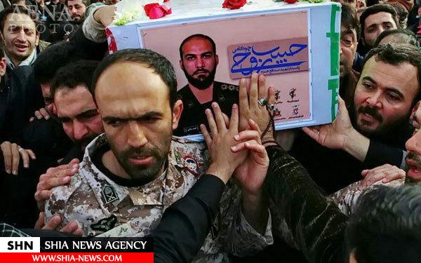 شهادت دو پاسدار ایرانی در استان حلب سوریه + تصویر