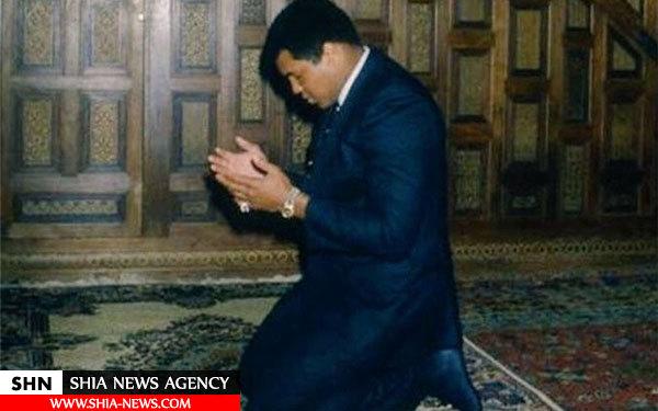 غیرت دینی مثال زدنی اسطوره مسلمان بوکس جهان+ تصویر