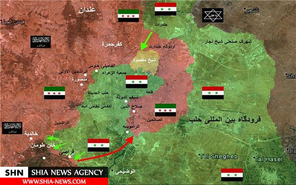 جزئیات هجوم اخیر به اطراف خان طومان حلب