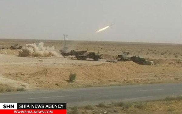 تصاویر پیشروی ارتش سوریه به سمت الرقه