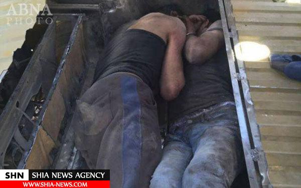 دو داعشی که توسط لبنان دستگیر شدند + تصاویر