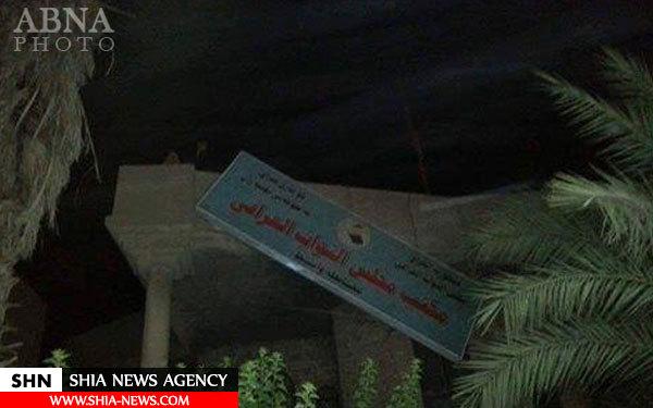 حمله به مقرهای حزب الدعوه و چند حزب سیاسی عراق + تصاویر