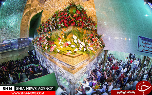 تصویر استثنایی از حرم حضرت عباس(ع)