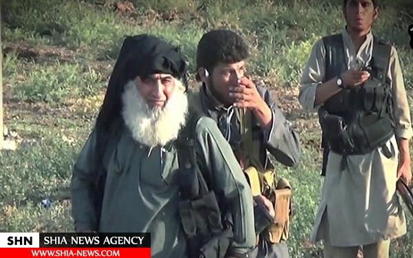 تصویر سرکرده بعثی داعش قبل از مرگ