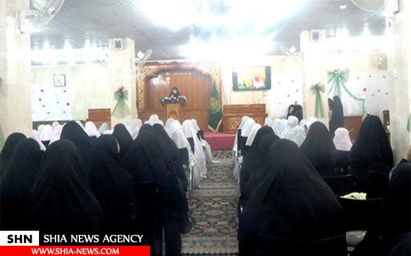 جشن تکلیف دختران در حرم امیرالمومنین علی(ع) برگزار شد + تصاویر