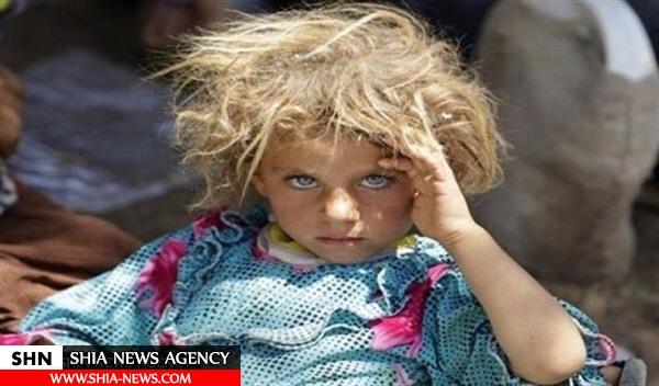 دخترک خردسالی که داعش در معرض فروش گذاشت+ تصویر