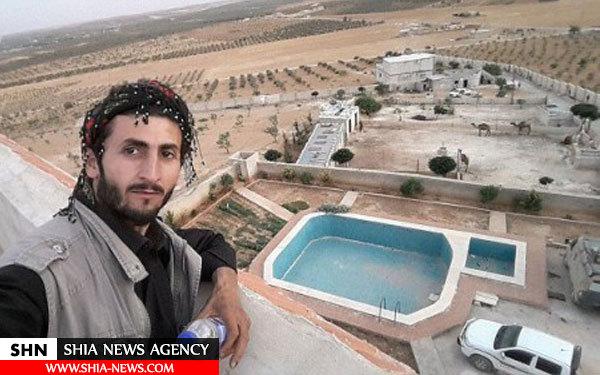 تصویر قصر ابوبکر البغدادی در سوریه