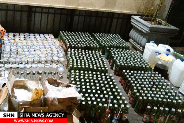 کشف ۶ هزار لیتر مشروبات الکلی توسط یگان امنیتی سپاه تهران+ تصاویر