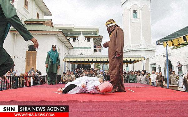 شلاق 13 زن و مرد به دلیل ارتباط قبل از ازدواج!+ تصاویر
