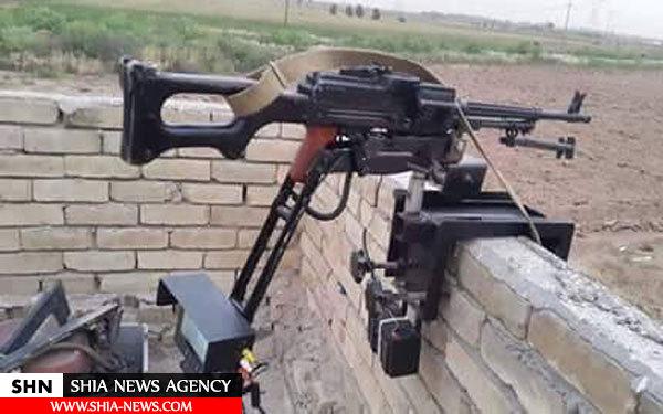 تیربار کنترل از راه دور بچه شیعه های عراقی+ تصویر