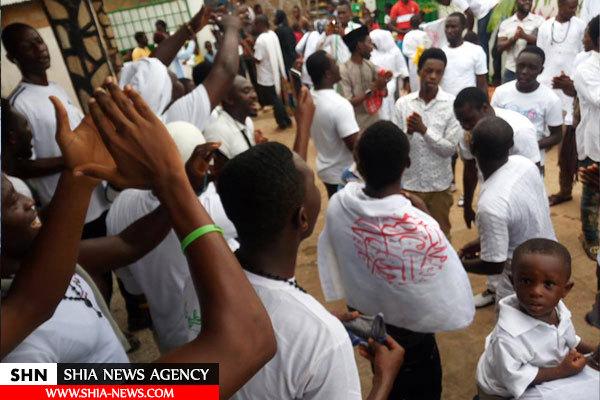 راهپیمایی شیعیان غنا در عید غدیر + تصاویر
