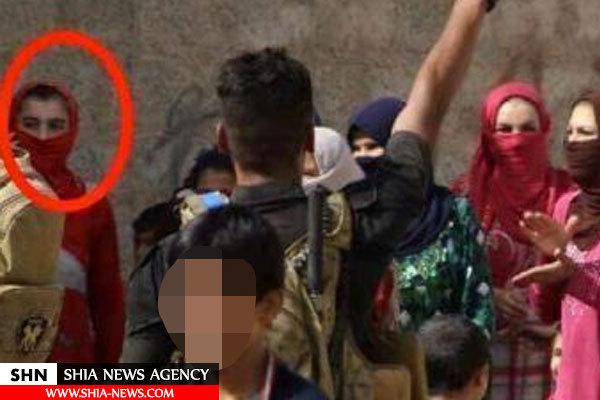 فرار یکی از سران داعش با لباس زنانه+ تصویر