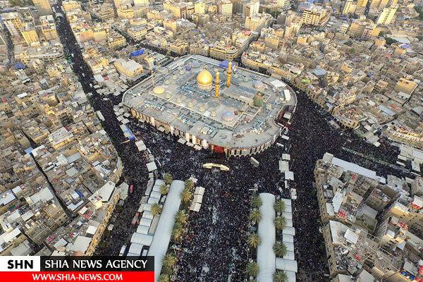 تصاویر فرانس 24 از مراسم اربعین حسینی