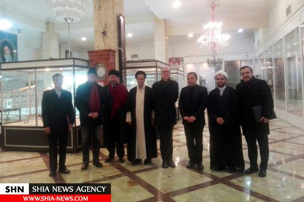 تشرف سفیر اتریش در ایران به حرم حضرت معصومه(س) + تصویر