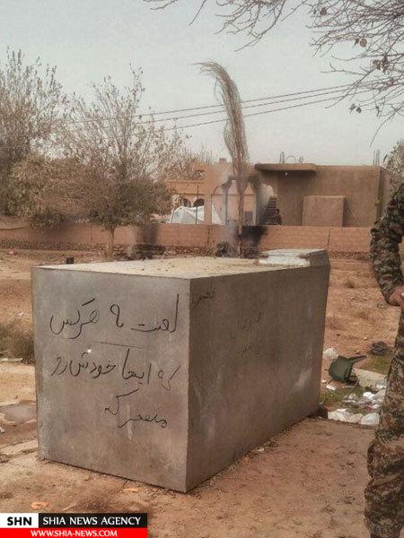 شوخی عجیب مدافعان حرم با انتحاریهای داعش