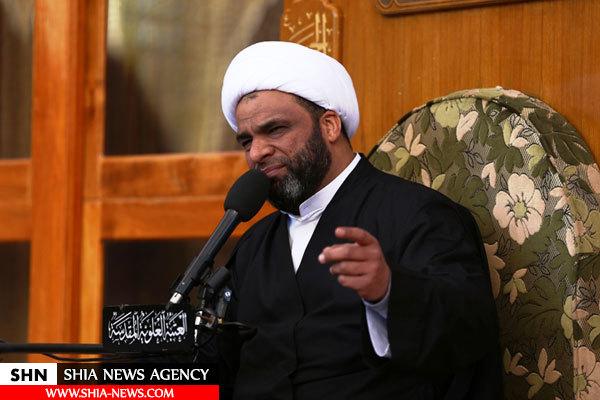 عزاداری ایام فاطمیه در حرم امام علی(ع) برگزار شد+ تصاویر