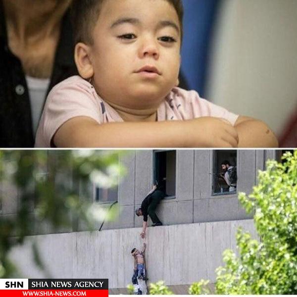 دستور ویژه برای درمان کودک معروف حادثه تروریستی مجلس