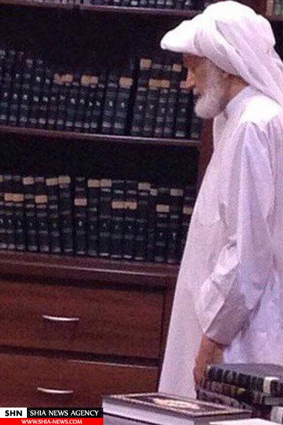 اولین عکس از شیخ عیسی قاسم در حصر خانگی رژیم آل خلیفه