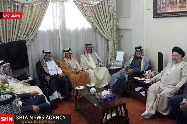 تصاویر اختصاصی/ دیدار بزرگان عشایر استان دیاله عراق با نماینده آیت الله العظمی سیستانی