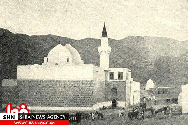 تصویر مقبره حضرت حمزه (ع) قبل از تخریب