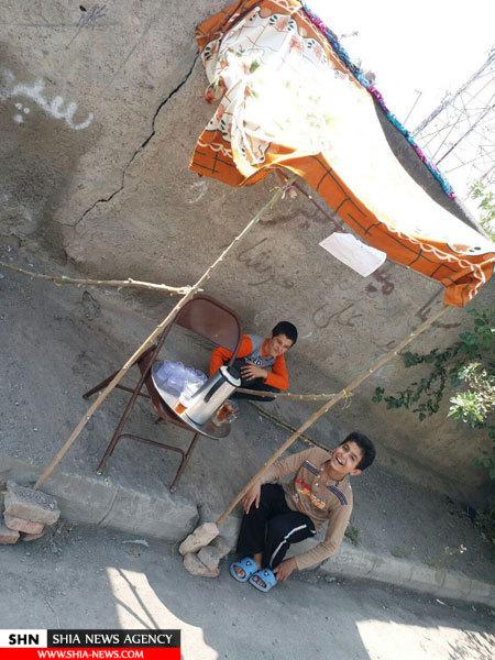 تصویر ایستگاه صلواتی با ساده ترین امکانات