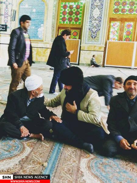 انتشار تصاویر جنجالی شهروند اسرائیلی در اماکن مقدس اسلامی و شیعی + تصاویر
