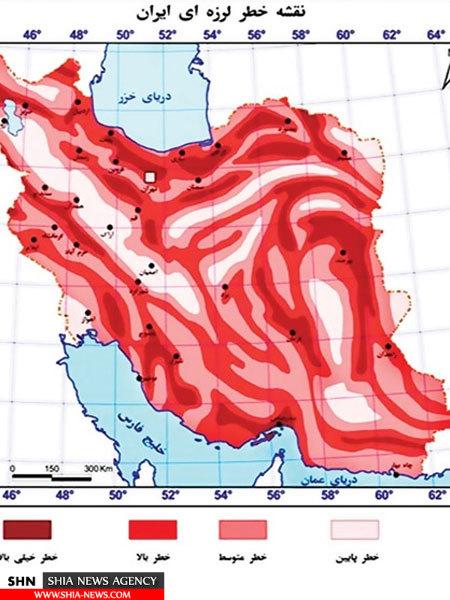 دلیل زلزله های اخیر ایران چیست؟+ نقشه و جدول