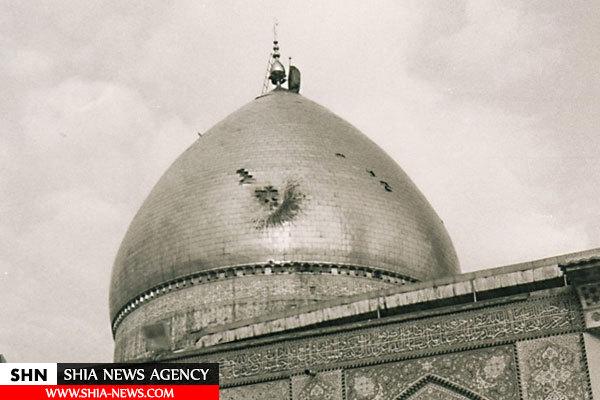 تصاویر ویرانی های کربلا در حمله ارتش صدام