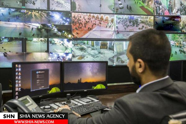 کنترل امنیت حرم حضرت اباالفضل العباس(س) توسط ۸۰۰ دوربین مداربسته