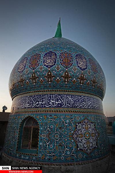 تصاویری زیبا از مقام امام زمان (عج) در کربلای امام حسین (ع)