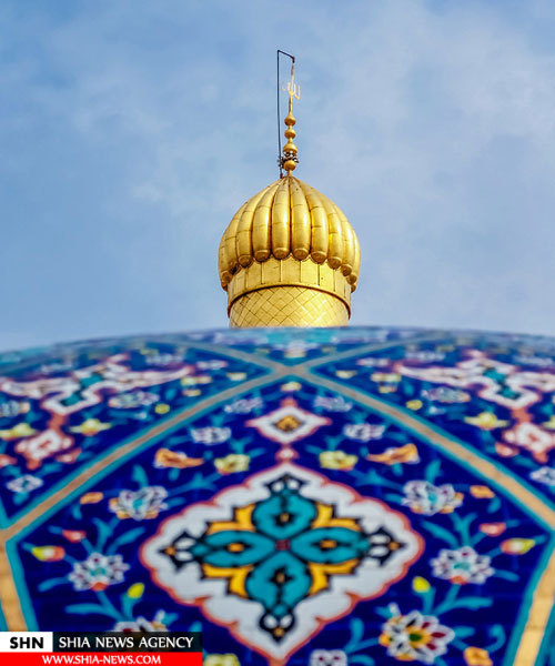 تصاویری از گنبد و گلدسته های حرم حضرت اباالفضل العباس (ع)