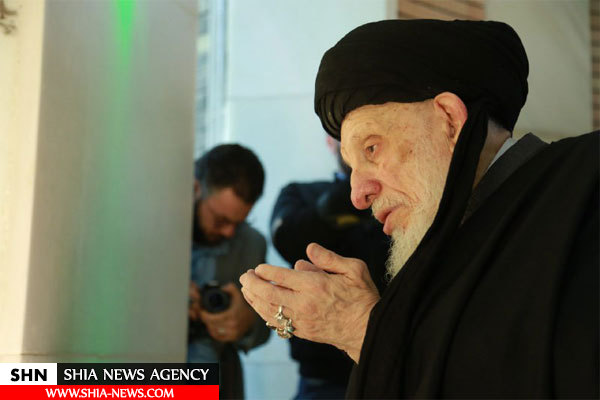افتتاح مقام امام مهدی(عج) با حضور آیت الله حکیم + تصاویر