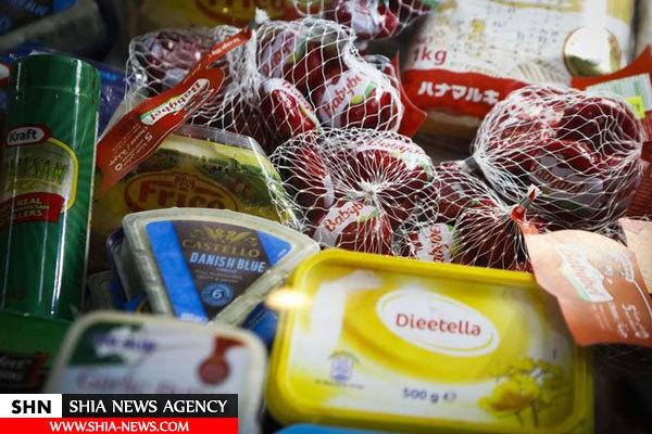 تصاویر کشف خوراکیهای غیرمجاز توسط تعزیرات