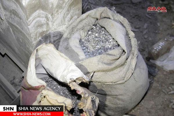 کشف تسلیحات شیمیایی در مخفیگاه داعش +تصاویر