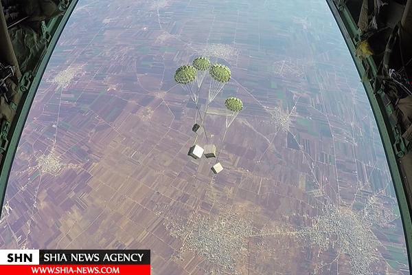 امدادرسانی هوایی ارتش و سپاه به شیعیان در محاصره فوعه و کفریا