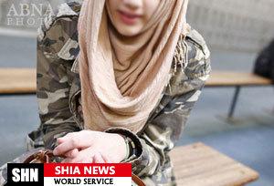 محرومیت دختر مسلمان بلژیکی از کارآموزی به دلیل حجاب