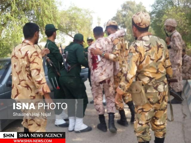 جزئیات حمله تروریستی اهواز از زبان سخنگوی سپاه + تصویر